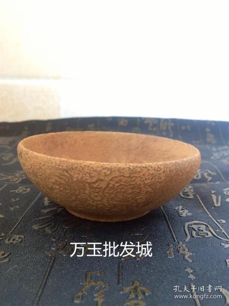 仿古玉器古玩杂项收藏天然玉石仿古做旧碗摆件老物件老古董做旧碗