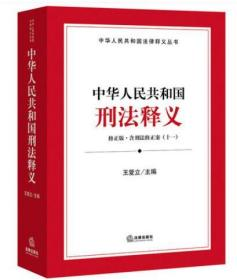 中华人民共和国刑法释义(含刑法修正案十一)