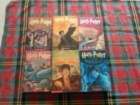 Harry Potter 【6本和售】