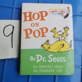 Hop on Pop Board Book在爸爸身上蹦来跳去 英文原版