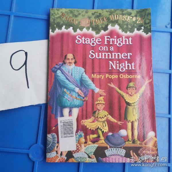 Stage Fright on a Summer Night (Magic Tree House #25)  神奇树屋25:仲夏夜演出