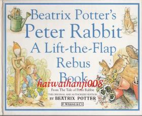 Beatrix Potter's Peter Rabbit Rebus Book: A Lift-the-Flap Rebus Book (洋书しかけ绘本 ハードカバー)