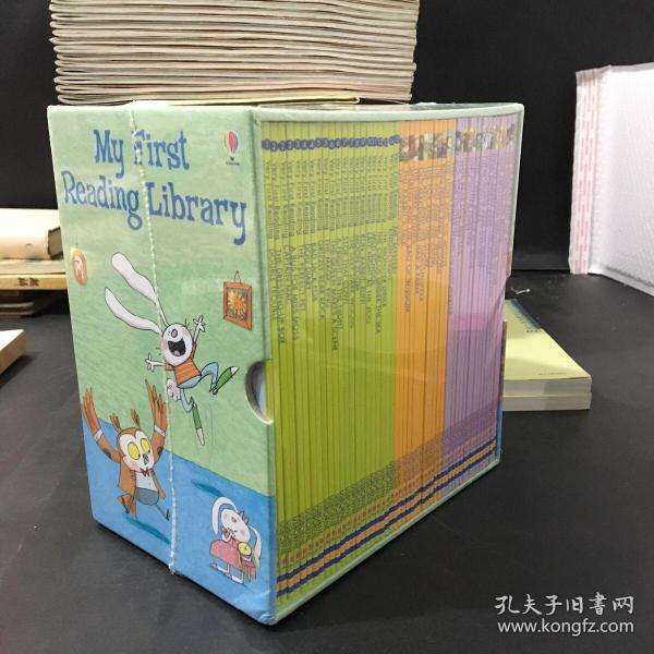 My First Reading Library  我的第一个图书馆套装,共50册 英文原版