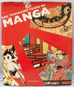 One Thousand Years of Manga(洋书)