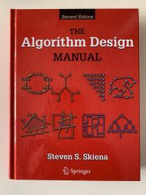 现货 The Algorithm Design Manual 英文原版 算法设计指南(第2版)  Robert Sedgewick