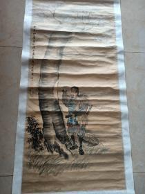 旧村陈永人物中堂。130/61