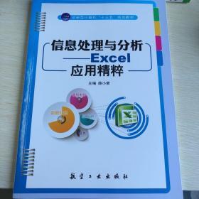 """信息处理与分析:Excel应用精粹/计算机""""十二五""""规划教材"""