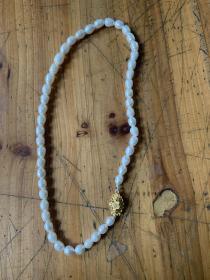 珍珠项链一条 全新