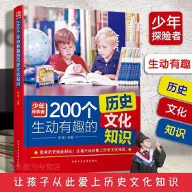 正版现货 200个生动有趣的历史文化知识 历史如此好玩 让孩子爱