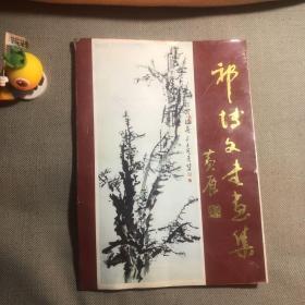 祁博文书画集 (祁博文毛笔签名赠送本)92年1版1印