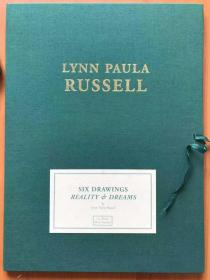 Lynn Paula Russell 琳恩宝拉 色情限量编号版画4幅  签名