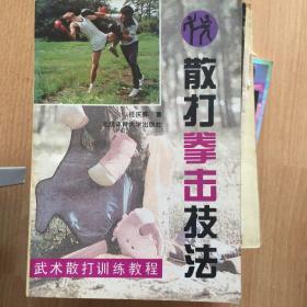 武术散打训练教程-散打拳击技法