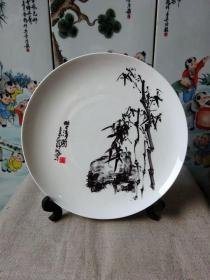 恩祥集团成立20周年纪念名家绘画瓷盘