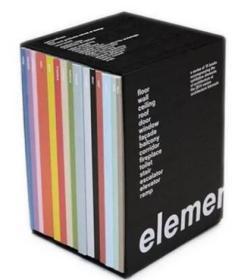 Elements Rem Koolhaas 建筑元素 库哈斯 (15本/套)
