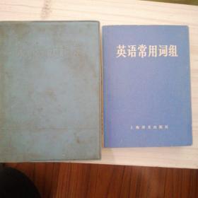 英语新词词典 英语常用词组