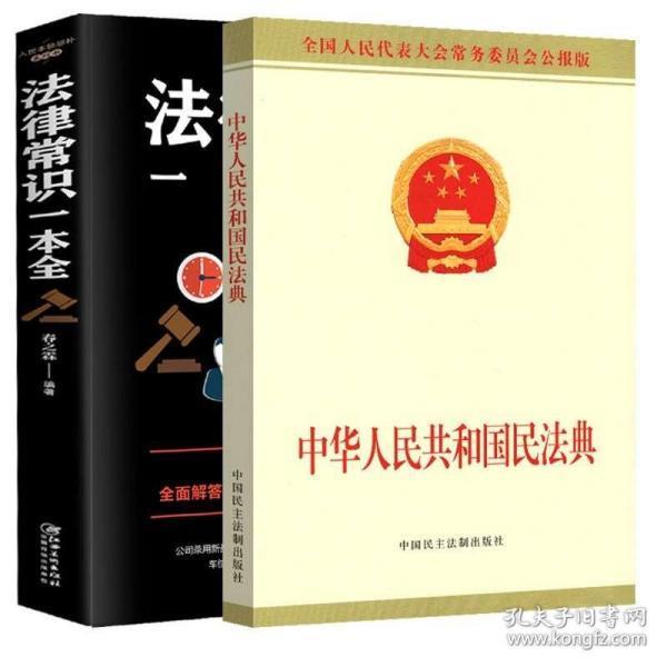 正版全套2册 民法典2020年最新版 中华人民共和国民法典 公报版 法律常识一本全理解与适用解读中国民典法法律基础知识民法单行本