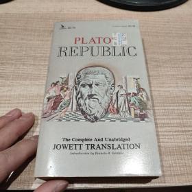 PLATO'S  REPUBLIC 柏拉图理想国  英文原版