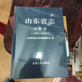 山东省志宗教志(1991-2005)