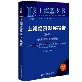 上海蓝皮书:上海经济发展报告(2021)--聚焦在线新经济和新基建