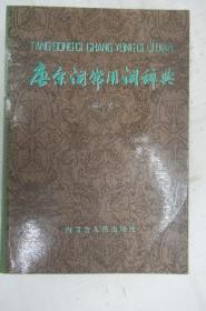唐宋词常用词辞典