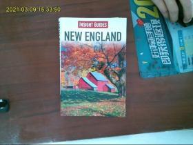 【外文原版】  Insight Guides New England