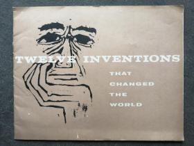 TWELVE INVENTIONS  THAT CHANGED  THE WORLD