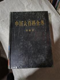中国大百科全书,全74卷,总索引,2004版没开封