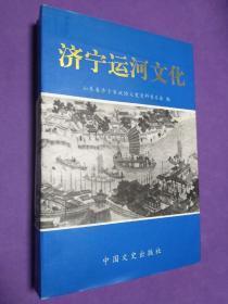 济宁运河文化【正版!此书籍未阅 干净 无勾画 不缺页】