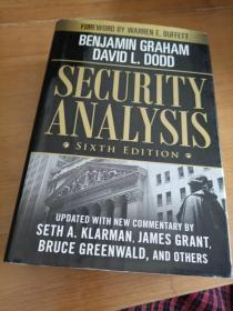 Security Analysis:Sixth Edition, Foreword by Warren Buffett,内有划线,