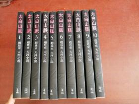 太白山脉(赵廷来大河小说)1-10册 全十册(韩文原版)