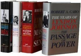 The Years Of Lyndon Johnson 4 Volume Set