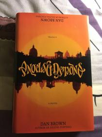 美国著名作家丹布朗,初版初印代表作《天使与魔鬼》签赠签名本,印刷错版,少见!【十月特价,限时限量】