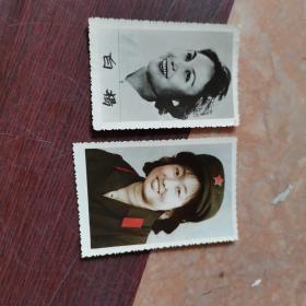 80年代美女军装照片 彩色(100开大小)