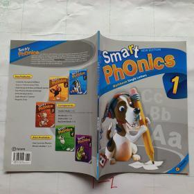 【外文原版】Smart Phonics1 Workbook Single Letters智能拼音1