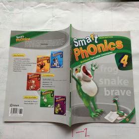 【外文原版】Smart Phonics1 Workbook Single Letters智能拼音4