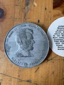华盛顿林肯纪念堂林肯纪念章