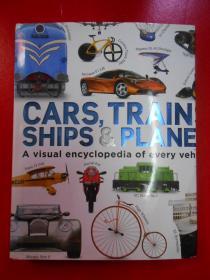 CARS,TRAINS,SHIPS PLANES汽车、火车船和飞机【外文原版】
