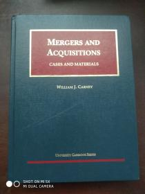 MERGERS AND ACQUISITIONS CASES AND MATERIALS  [并购案例和材料]1205页