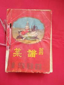 1988年菜谱台历(缺12月31日及封底2张)