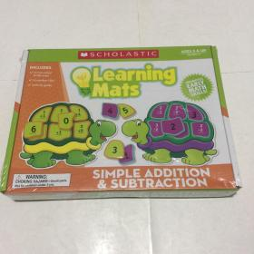 Learning Mats Simple Addition & Subtraction  Ages 5 & Up  Ages 5 & Up Grades 1-3  未拆封