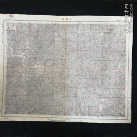 上塔市地图•1947年测量总局 制印•尺寸 54x43厘米(一)