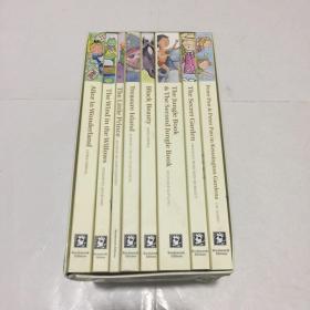 精选儿童文学名著8册套装 英文原版 The Ultimate Children's Classic Collection 小王子爱丽丝彼得潘等 Wordsworth 盒