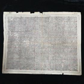 上塔市地图•1947年测量总局 制印•尺寸 54x43厘米(二)