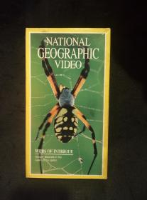 美国国家地理频道纪录片录像带:NATIONAL GEOGRAPHIC VIDEO(蜘蛛)