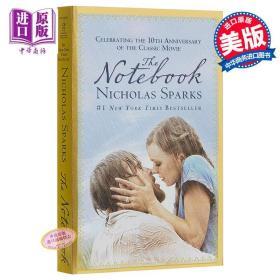 小说 恋恋笔记本 Nicholas Sparks【中商原版】英文原版 The Notebook