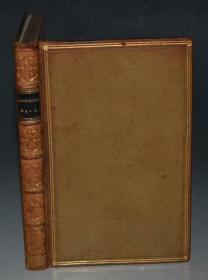1861年Alfred Tennyson - Maud and other Poems丁尼生著名诗集《莫德》全原粒面小牛皮豪华本 珍贵早期版本 品上佳
