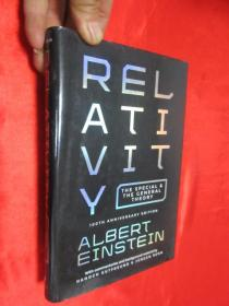 Relativity: The Special and the General Theory - 100th Anniversary Edition       (大32开,硬精装) 【详见图】,毛边