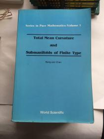 TOTAI MEAN CURVATURE AND  SUBMANIFOIDS OF FINITE TYPE