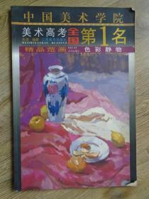 中国美术学院美术高考全国第1名精品范画.色彩静物