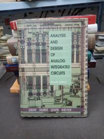 模拟集成电路设计的最经典的著作 Analysis and Design of Analog Integrated Circuits Fourth Edition  第4版